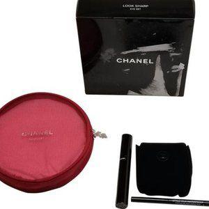 Chanel Black Brown Look Sharp Eye Set Red Makeup
